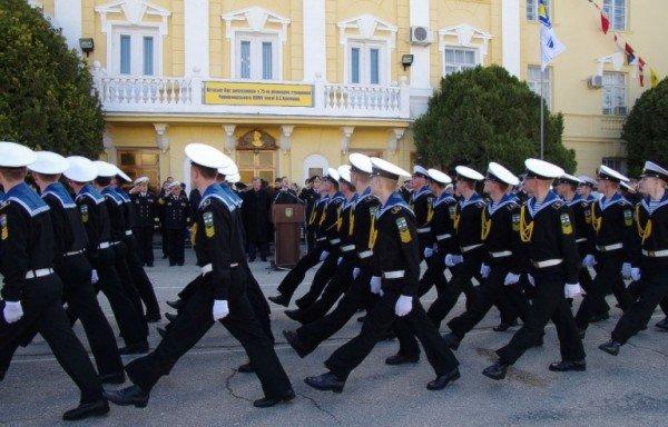 В Севастополе торжественно отметили 75-летие Черноморского Военно-Морского училища имени П.С. Нахимова, фото-1