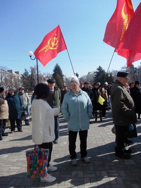 Митинг против высоких тарифов в Артемовске: и вторая попытка не увенчалась успехом (ВИДЕО), фото-2