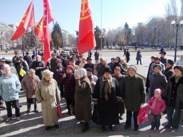 Митинг против высоких тарифов в Артемовске: и вторая попытка не увенчалась успехом (ВИДЕО), фото-4