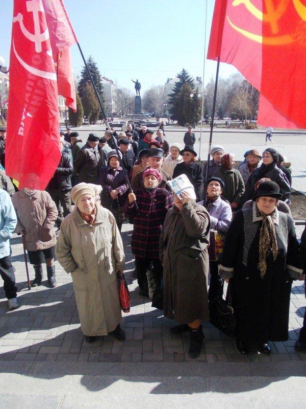 Митинг против высоких тарифов в Артемовске: и вторая попытка не увенчалась успехом (ВИДЕО), фото-6