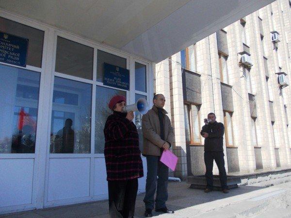 Митинг против высоких тарифов в Артемовске: и вторая попытка не увенчалась успехом (ВИДЕО), фото-7