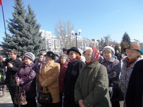 Митинг против высоких тарифов в Артемовске: и вторая попытка не увенчалась успехом (ВИДЕО), фото-9