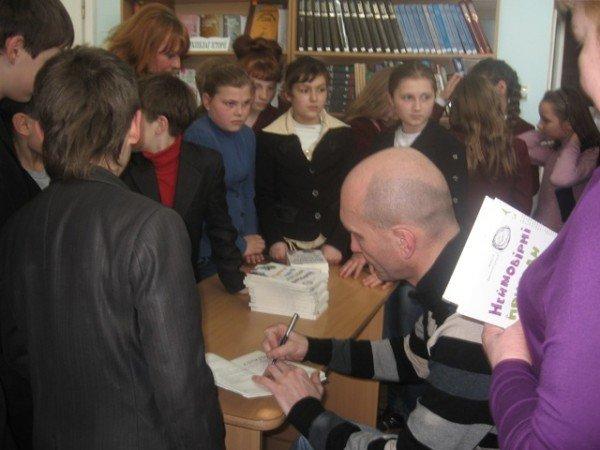 Дитячий письменник зі Львова зустрівся із луцькими читачами (ФОТО), фото-2