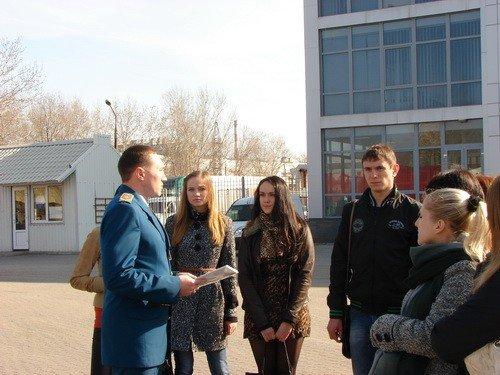 Запорожским студентам провели экскурсию по таможне (ФОТО), фото-2