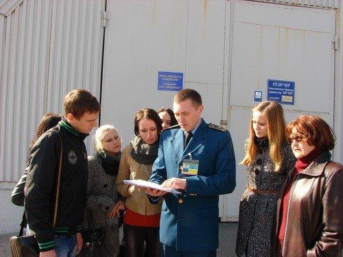 Запорожским студентам провели экскурсию по таможне (ФОТО), фото-3