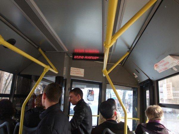 В Донецке общественный транспорт заговорил на английском (фото), фото-2