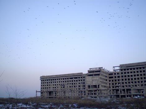 Позорный недострой в Донецке взрывать не будут, фото-1