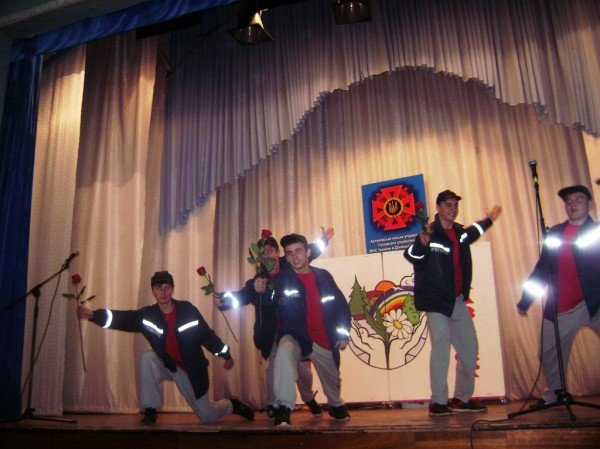 На фестивале в Артемовске школьники шутили… о пожарах!, фото-6