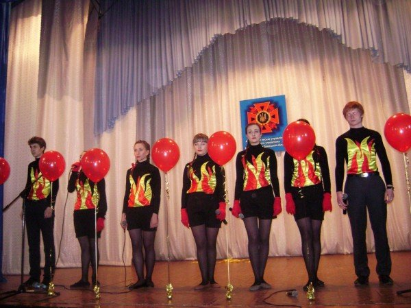 На фестивале в Артемовске школьники шутили… о пожарах!, фото-9