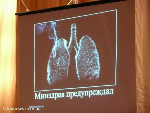 Ялтинским школьникам показали «Суд над сигаретой», фото-7