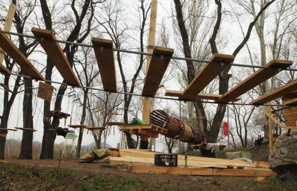 В Донецке откроется веревочный парк «Лень в пень», фото-2