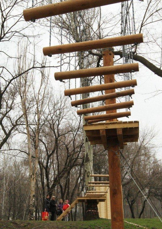 В Донецке откроется веревочный парк «Лень в пень», фото-3