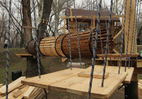 В Донецке откроется веревочный парк «Лень в пень», фото-4