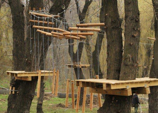 В Донецке откроется веревочный парк «Лень в пень», фото-6