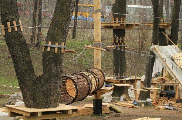 В Донецке откроется веревочный парк «Лень в пень», фото-7