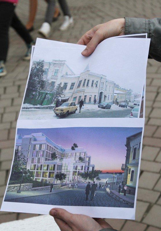 В Донецке офис Рината Ахметова забросали мусором (фото, видео), фото-2