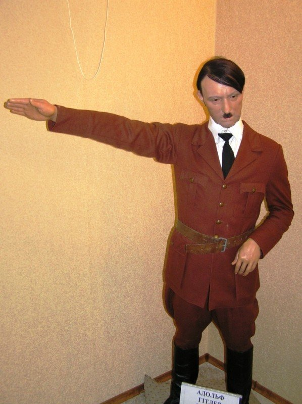 В Артемовск привезли Гитлера и Усама бен Ладена, фото-2