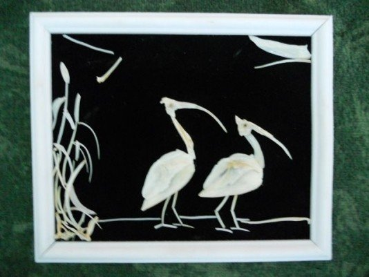 Винницкий мастер создает картины из рыбьих костей, фото-8