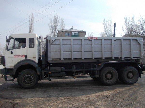 У «Ремондиса» появилась машина для вывоза крупногабаритного мусора (ВИДЕО), фото-1