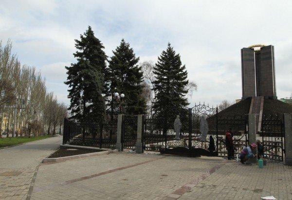 В Донецке продолжается реконструкция парка Металлургов (фото), фото-1