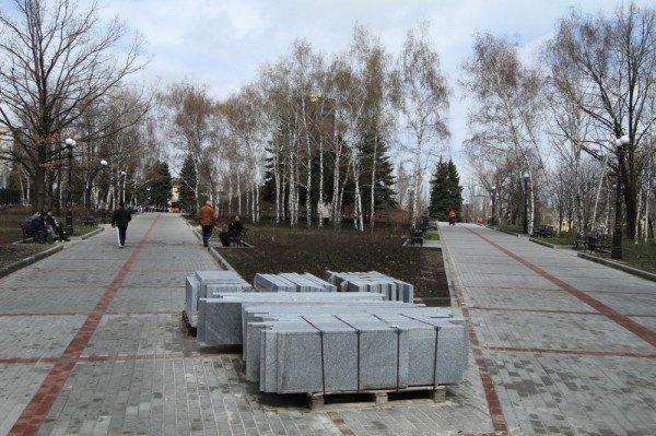 В Донецке продолжается реконструкция парка Металлургов (фото), фото-2