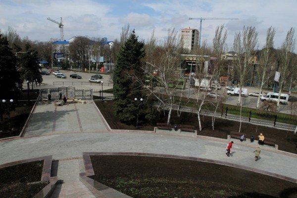 В Донецке продолжается реконструкция парка Металлургов (фото), фото-5