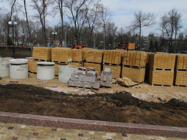 В Донецке продолжается реконструкция парка Металлургов (фото), фото-9