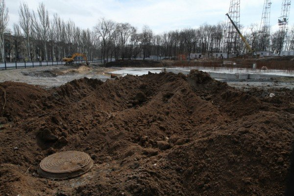 В Донецке продолжается реконструкция парка Металлургов (фото), фото-11