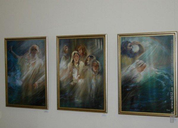 Христианские ценности взглядом художника: завтра в Симферополе откроется новая выставка (фото), фото-3