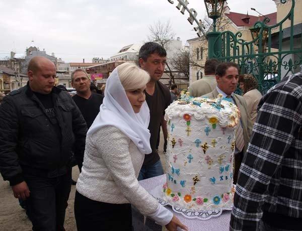В Симферополе испекли 50-килограммовый пасхальный кулич (фото), фото-4