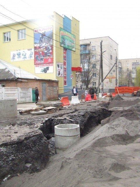 У Вінниці почали реконструювати вулицю Шмідта (ФОТО), фото-4