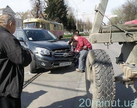 У Вінниці знову аварія на Блока – трамваї стояли сім хвилин (ФОТО), фото-6