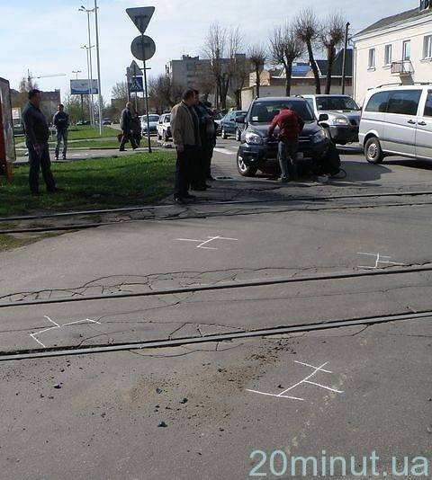 У Вінниці знову аварія на Блока – трамваї стояли сім хвилин (ФОТО), фото-7