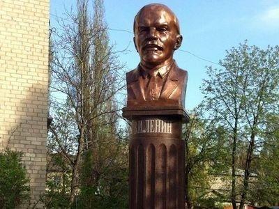 Десятки килограммов меди  в виде Ленина будут охранять от посягательств вандалов в Красноармейске (ФОТО), фото-1