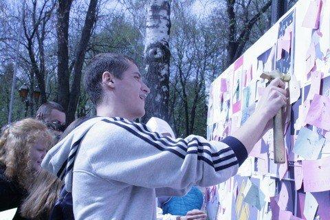 Студенти забили цвяхи в алкоголізм, наркоманію та куріння (ФОТО), фото-1