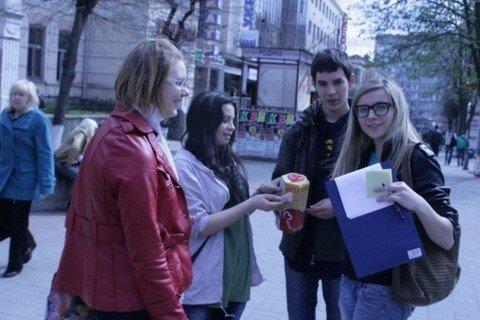 Студенти забили цвяхи в алкоголізм, наркоманію та куріння (ФОТО), фото-5