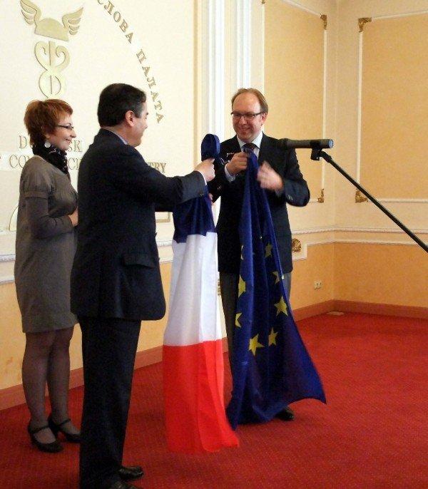 В Донецке открылось консульское агентство Франции (фото), фото-1