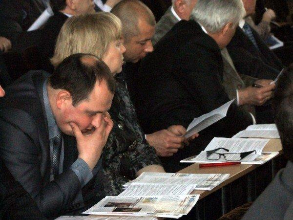 Депутаты Донецкого горсовета в массовом порядке прогуляли сессию (фото), фото-6