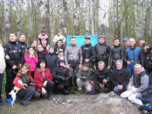 В Запорожской области провели субботник...под водой (ФОТО), фото-1