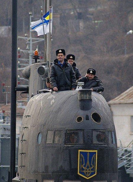 В Крыму впервые за 20 лет единственная подводная лодка Украины вышла в море (фото), фото-3