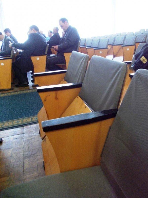 Артемовские депутаты решили сделать ремонт в сессионном зале горсовета, фото-6