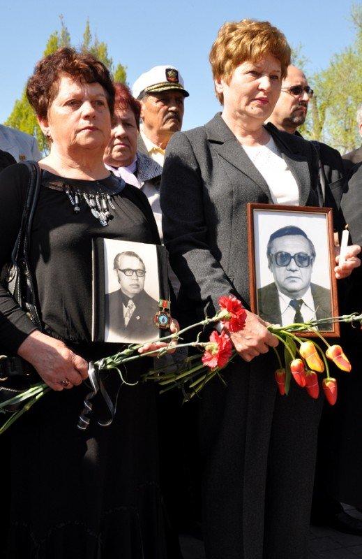 ФОТОРЕПОРТАЖ: В Запорожье чиновники превратили митинг ко Дню чернобыльской трагедии в предвыборную агитацию, фото-5