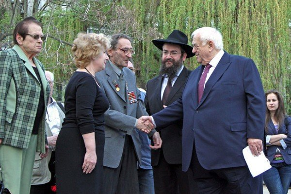 В Донецке почтили память жертв Холокоста, фото-1
