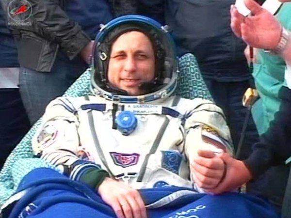 Крымский космонавт удачно приземлился в казахстанской степи (фото), фото-1