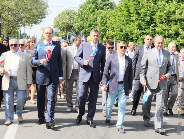 В Симферополе первомайская демонстрация прошла под палящим солнцем (ФОТО), фото-2
