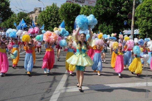 В Симферополе первомайская демонстрация прошла под палящим солнцем (ФОТО), фото-4