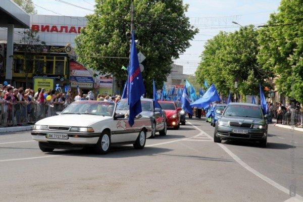 В Симферополе первомайская демонстрация прошла под палящим солнцем (ФОТО), фото-5