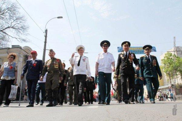 В Симферополе первомайская демонстрация прошла под палящим солнцем (ФОТО), фото-7