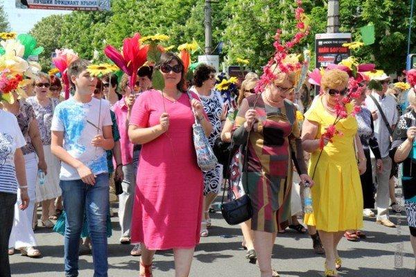 В Симферополе первомайская демонстрация прошла под палящим солнцем (ФОТО), фото-8