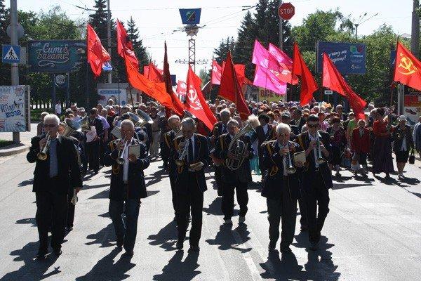 Коммунисты Горловки: «Праздником Первомай был для нас лишь в Советское время», фото-1